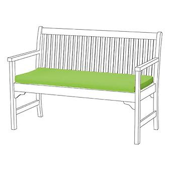 Gardenista® Lime Water Resistant 3 Seater Bench Pad