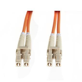 15M LC LC Om1 πολλαπλών λειτουργιών καλώδιο οπτικών ινών πορτοκαλί