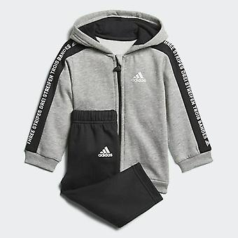 Adidas Infant Linear Hooded Fleece - DJ1546