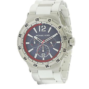 Michael Kors Silicone Wrapped Chronograph Mens Watch MK8297