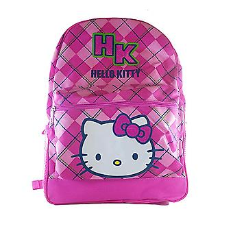 Backpack - Hello Kitty - Pink Checker 16