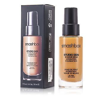 Smashbox studio skin 15 uur dragen hydraterende Foundation-# 2,4 (licht medium met warme, Peachy ondertoon) 30ml/1oz