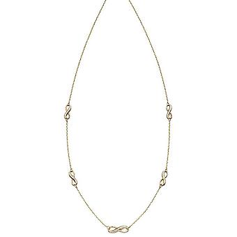 Elements Gold Infinity Station Necklace - Gold