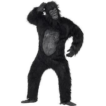Gorillakostüm XL Gorilla Affe Kostüm deluxe