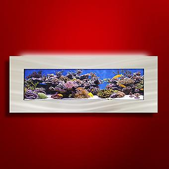 Aussie akvarier 2,0 väggmonterad akvarium-Vista