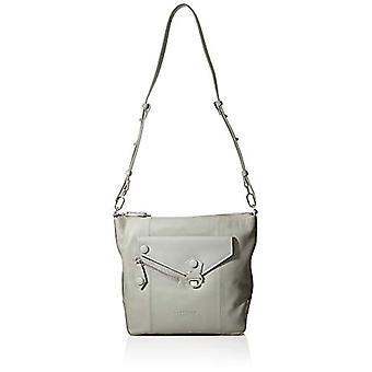 Liebeskind Berlin ASHOBOM ASYM Grey Women's shoulder bag (Grey (hyena grey 9049)) 10x34x29 cm (B x H x T)