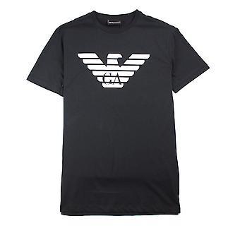 Emporio Armani-Eagle T-shirt zwart