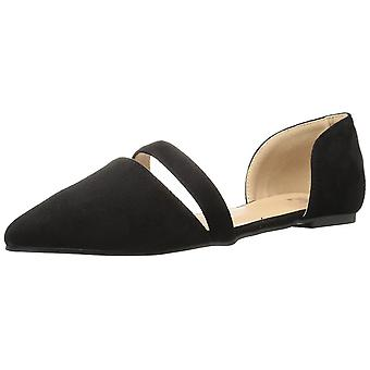 Brinley Co Womens Nance Pointed Toe Casual Slide Sandals