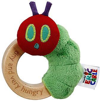 Rainbow Designs Tiny Caterpillar Ring Rattle