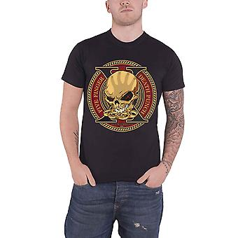 Five Finger Death Punch T Shirt Decade Of Destruction new Official Mens Black
