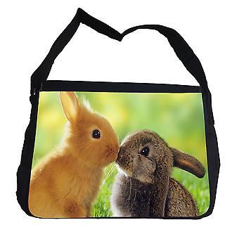 Konijn Puss tas met schouderriem-messengertas