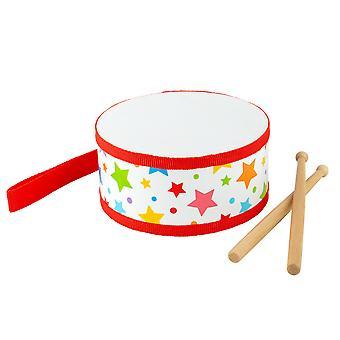 Bigjigs Toys Children's Junior Drum - Musical Instruments