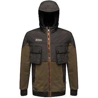 Tactical Threads Mens Onslaught Hooded Hybrid Hoodie Jacket