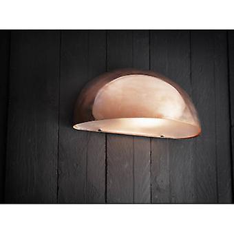 1 Light Outdoor Wall Light Copper