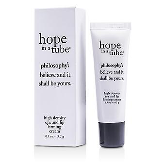 Philosophy Hope In A Tube - High Density Eye & Lip Firming Cream - 14.2g/0.5oz