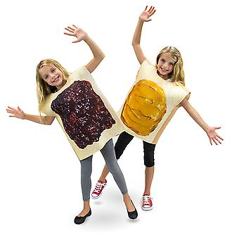 Peanut Butter and Jelly Children's Costume, 3-4