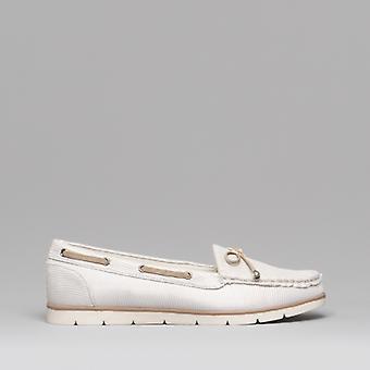Dr Keller Pipa Ladies Canvas Deck Shoes Beige