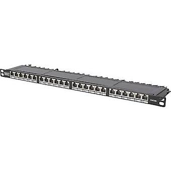Digitus DN-91624S-SL-SH 24 ports Network patch panel CAT 6 0.5 HE