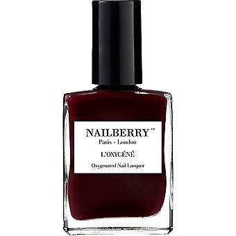 NailBerry Oxygenated Nail Lacquer - Noirberry 15ml