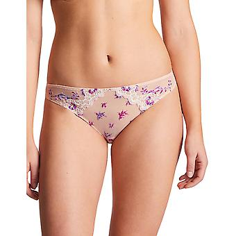 Aubade PB22 Women's Romance D Ete Embroidered Knickers Panty Full Brazilian Brief
