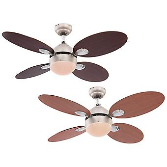 Ceiling fan Wade with light and pull cord 106cm / 42