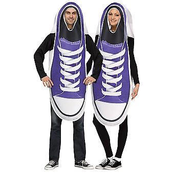 Sapatilhas par trajes casal