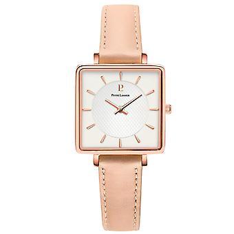 Watch Pierre Lannier LECAR 008F924 - Carr steel case watch Rose Gold Bracelet pink woman leather