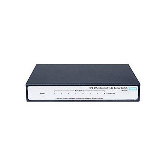 HPE 1420 8G Switch, 8X Gig Ports, Fanless, Unmanaged