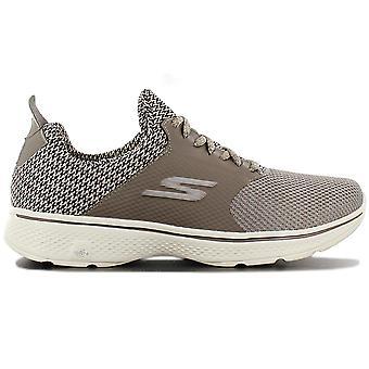 Skechers Go Walk 4 Instinct 54170-TPE Herren Schuhe Braun Sneaker Sportschuhe