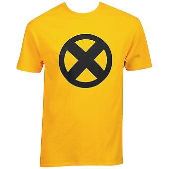 Marvel X-Men Simbolo Logo T-Shirt oro