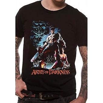 Army of Darkness - Rygning Motorsav T-shirt