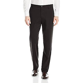 Dockers Men's Classic Fit Easy Khaki Pants D3,, Black (Stretch), Size 42W x 30L