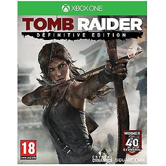 Tomb Raider Definitive Edition Xbox One-spel
