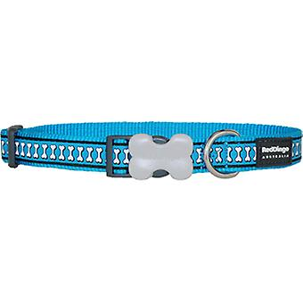 Red Dingo Reflective Dog Collar Turquoise (Dogs , Collars, Leads and Harnesses , Collars)