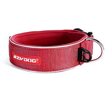 Ezydog Collar Neo Wide Rojo (Honden , Halsbanden en Riemen , Halsbanden)