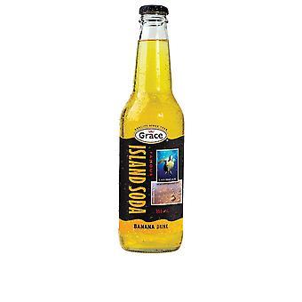 Grace Island Soda Banan-( 355 Ml X 12 Bokser )