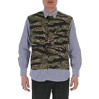 Chemise en coton camouflage Junya Watanabe B0140511