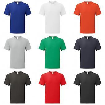 Fruto de la camiseta icónica de telar para hombre