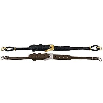 Cordette watch strap with ring end