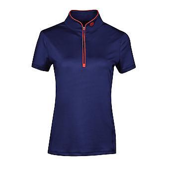 Dublin Kylee Womens Short Sleeve Shirt - Navy Blue