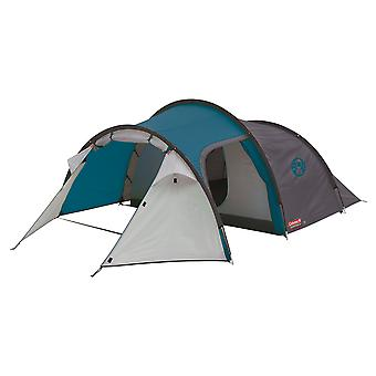 Coleman Cortes 3 Man Tunnel Tent Blue Weekend Tent Fast Pitch 3 Persoon