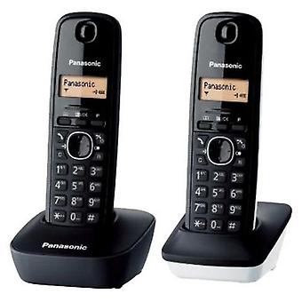 Wireless Phone Panasonic KX-TG1612SP1 Black White (2 pcs)