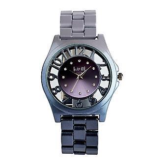 Eton Round See through surround Case, Grey Ombre Fashion Watch 3265J-GY