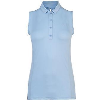 Slazenger Womens Sleeveless Polo Shirt Ladies T T-ShirtTops