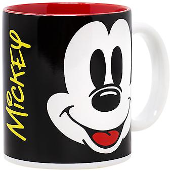 Disney Mickey Mouse Big Face 11 Ounce Coffee Mug