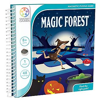 Jeu de voyage SmartGames Magic Forest Magnetic Puzzle Game One Player Ages 8 YearsMD