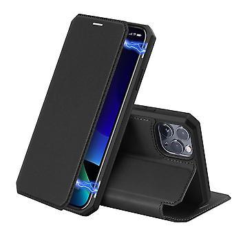 DUX DUCIS Skin X Boekmodel Hoesje iPhone 11 Pro - Zwart