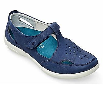 Padders Whistle Womens T-Bar Wide Fit Shoes