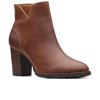 Clarks Verona Trish botas de tornozelo das mulheres