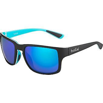 Bolle Slate aurinko lasit (mattamusta sininen polarisoitunut offshore Blue Oleo AR Cat. 3)